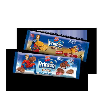 Kekse für unterwegs Prinzen Rolle Minis und Milchschatz