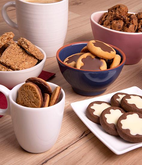 Keksmoment DeBeukelaer Kekse anrichten für Gäste