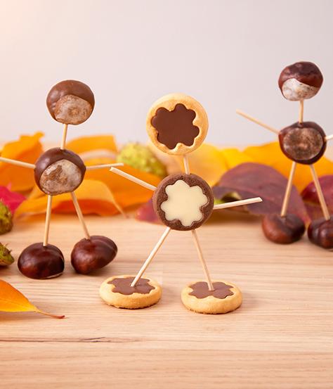 DeBeukelaer Kekse für uns Herbst Kastanien und Keks
