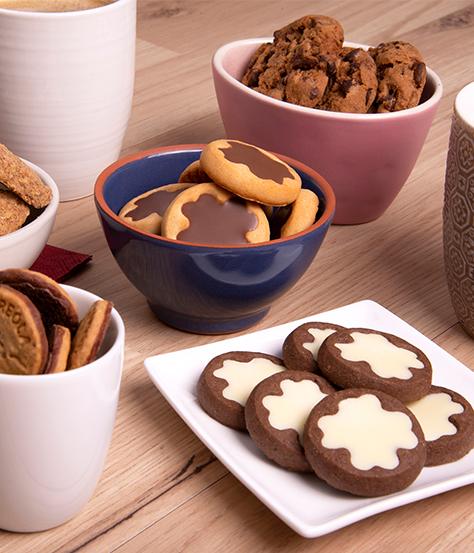 DeBeukelaer Kekse anrichten