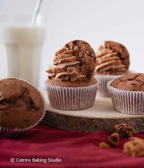 Muffins mit DeBeukelaer KEX Farmer Cookies backen