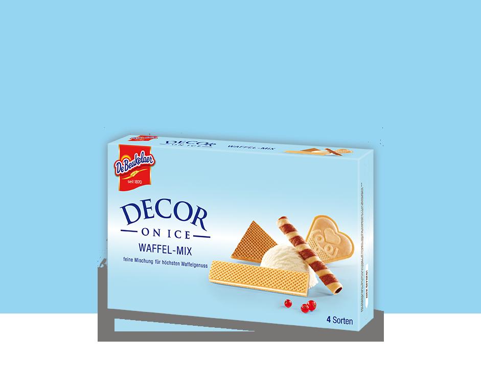 DeBeukelaer DECOR ON ICE Waffel-Mix