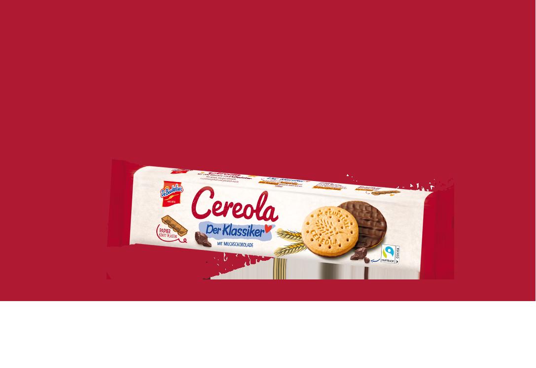 DeBeukelaer Cereola Milchschokolade mit Fairtrade Schokolade