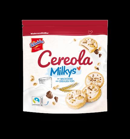 Kekse für unterwegs mit DeBeukelaer Cereola Milkys